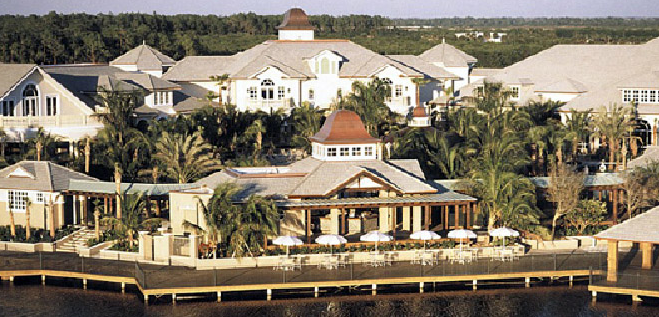 Fiddler's Creek Naples Florida, luxury Resort Style Community view of the clubouse