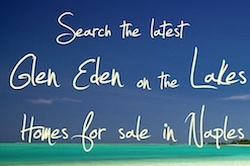 Naples Real Estate Listings of Glen Eden on the Lakes