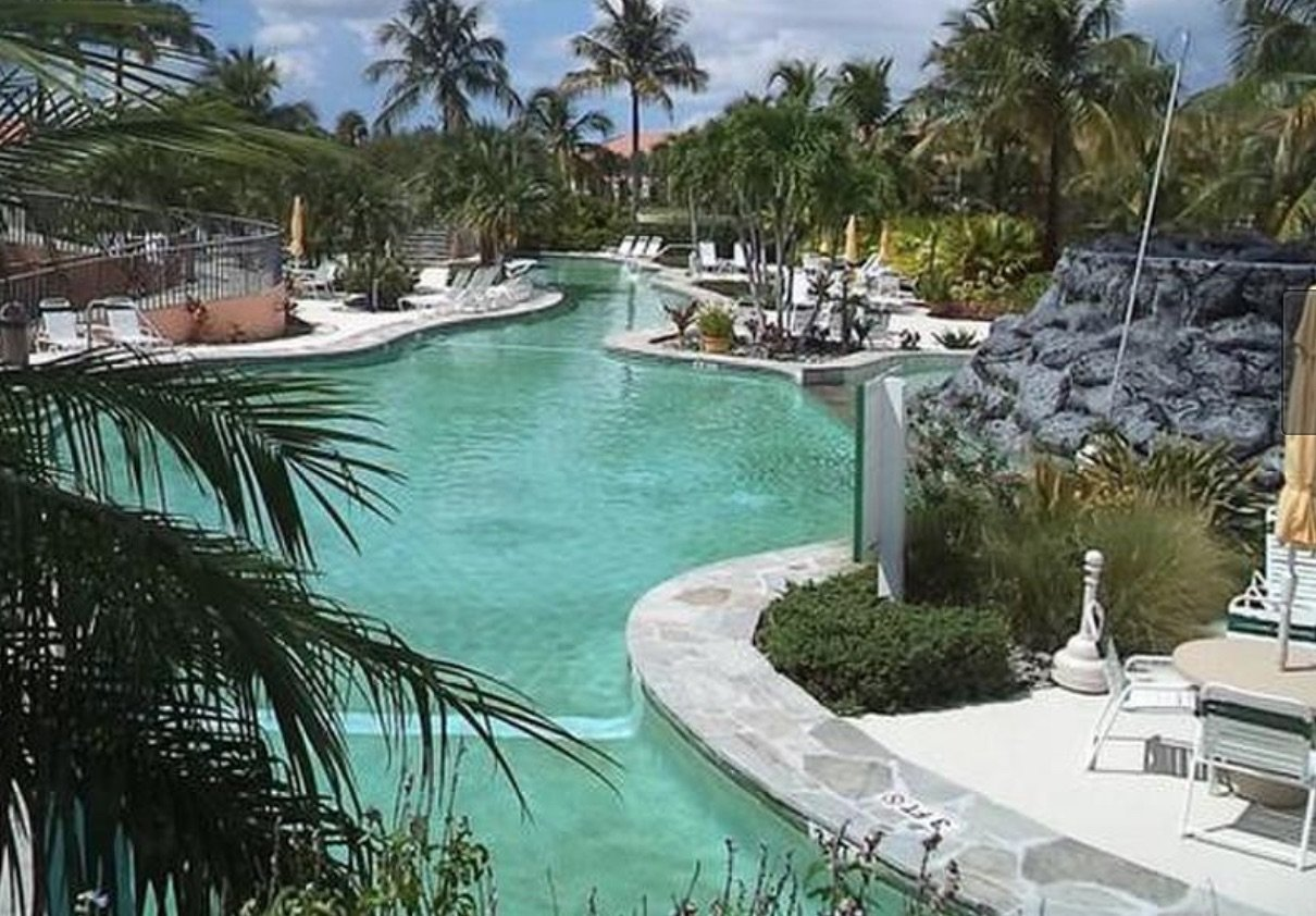 Beach Resort with lazy river in Naples Florida