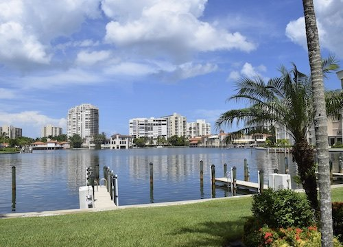 Naples High Rise Waterfront Condos