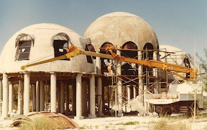 The dome was built in the 1980's near Naples and Marco Island Florida.
