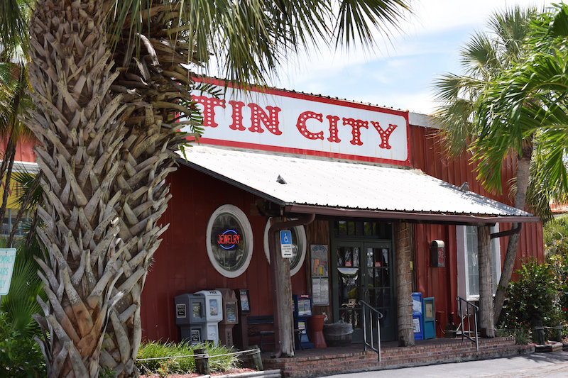 Tin City on Naples Bay in Naples Florida