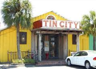 Visit Tin City for a unique shopping experience